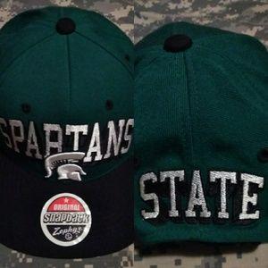 Michigan State Spartans rare blockhead adult cap